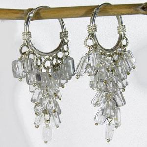 Boucles Cristal de roche