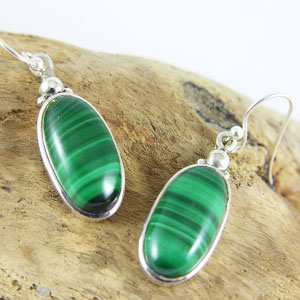 Boucles Malachite