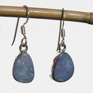 Boucles Opale bleue