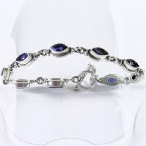 Bracelet Cordiérite