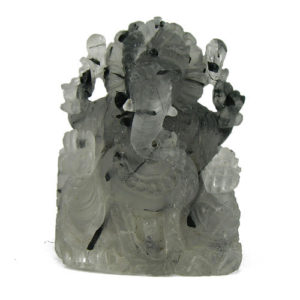 Ganesh Quartz Tourmaline