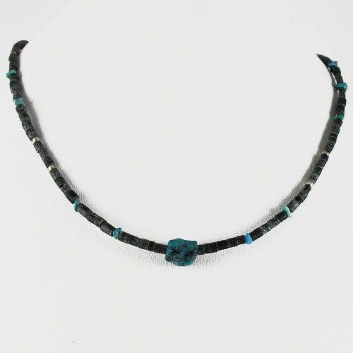 collier Jade Turquoise