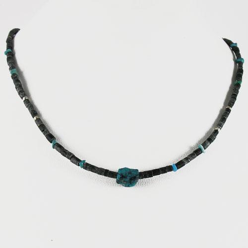 collier Jade Turquoise