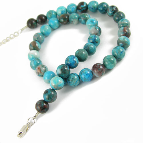 collier crazy agate