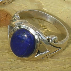 bague homme lapis lazuli bleu roi agate you. Black Bedroom Furniture Sets. Home Design Ideas