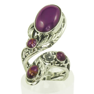 Bague Mohave Purple