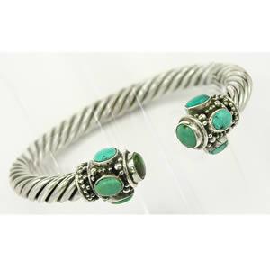 Bracelet esclave Turquoise