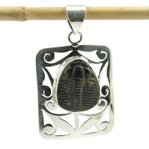 Trilobite pendentif