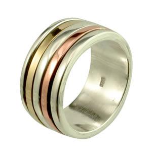 Bague large anneau