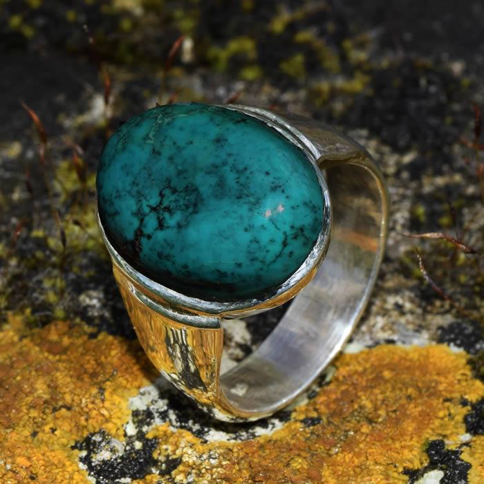 Turquoise bijoux homme