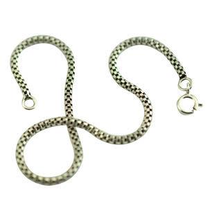 Bracelet fin et souple pour homme argent massif 925