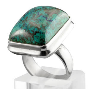 chrysocolle turquoise carree