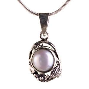 Pendentif perle de culture bijou femme