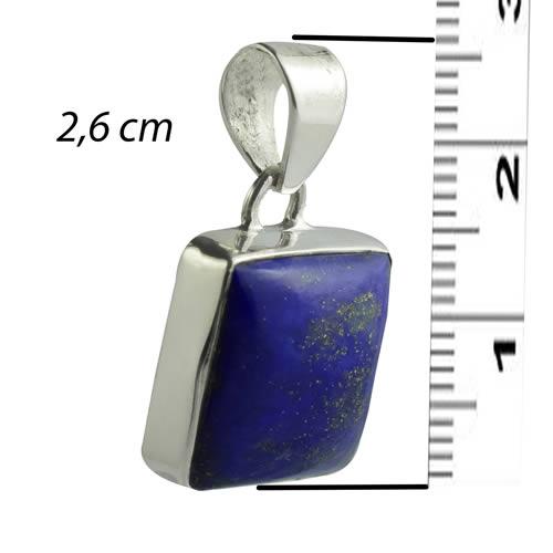 Pendentif homme pierre lapis lazuli