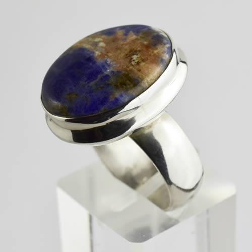 bague sodalite pierre bleue argent 2 500x500 agate you. Black Bedroom Furniture Sets. Home Design Ideas