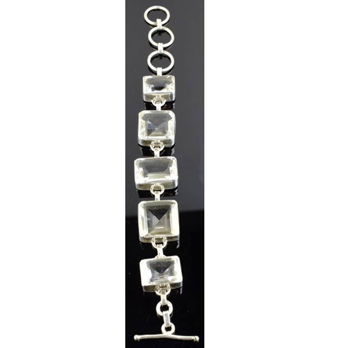 Bracelet Cristal de roche Quartz