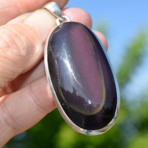 Obsidienne œil céleste pierre puissante