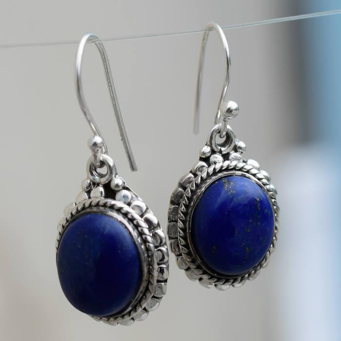 Boucles doreilles pendantes en pierre de lune arc-en-ciel 1,11 g